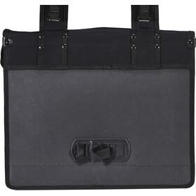 Basil Kavan Double Pannier Bag, black